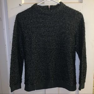 ZARA grey and black knit sweater